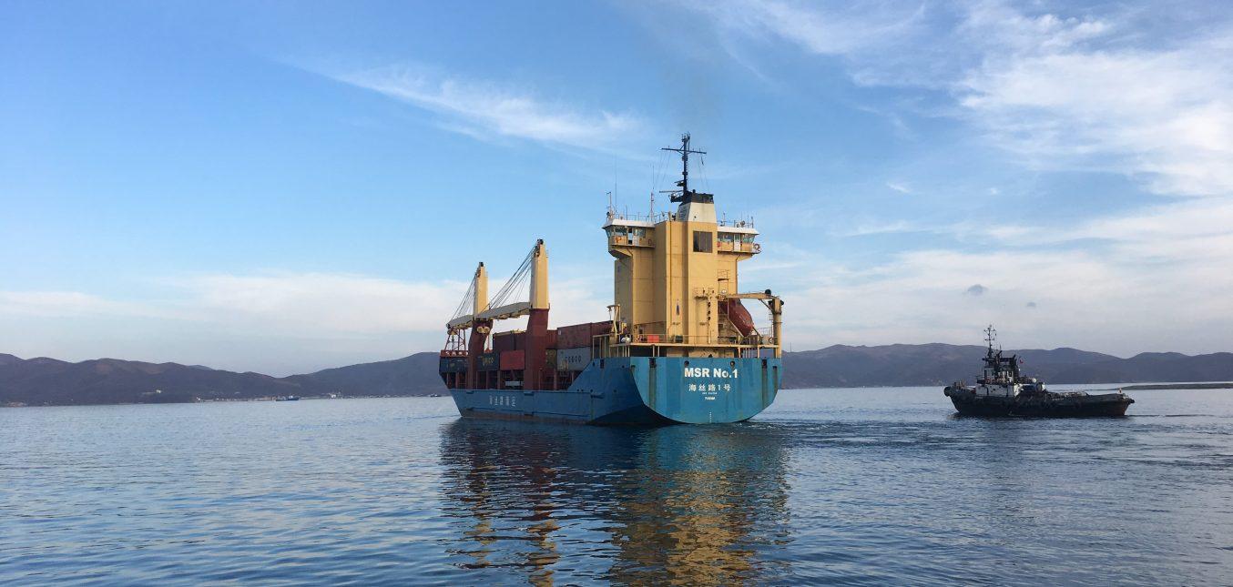 Морское агентирование судна